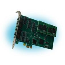 Parabel Quasar-8PCX-EC - Цифровая плата для Asterisk, 8 E1 портов, PCI express, эхоподавитель