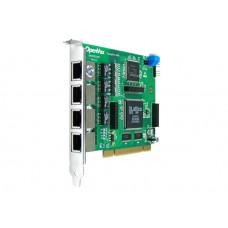 OpenVox D410P ISDN PRI E1 Цифровая плата