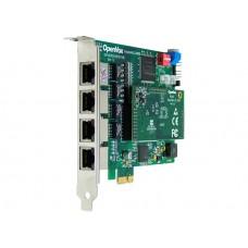 OpenVox DE410E ISDN PRI E1 Цифровая плата