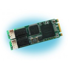 Quasar-M2 формат, 2 порта E1 для Asterisk Интерфейсная цифровая плата