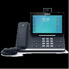 SIP телефон Видеотелефон Yealink SIP VP-T58V, видеотелефон, Android, WiFi, Bluetooth, GigE, CAM50 в комплекте, без БП