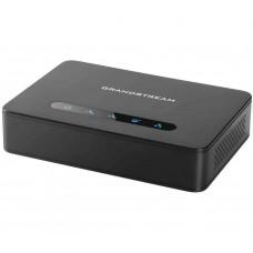 Grandstream HT812 - телефонный адаптер. 2xFXS, 1xLAN, 1xWAN, (1GbE)Gigabit Ethernet