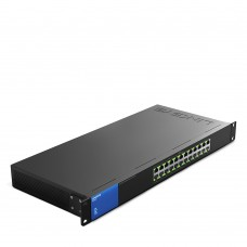 Коммутатор Linksys LGS124P-EU PoE+ 24-Port Gigabit Switch