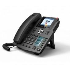 Fanvil X4G - IP-телефон, 4 SIP-линии, PoE, 2-ой дисплей с DSS/BLF