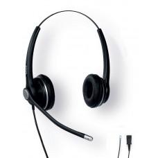 Проводная бинауральная гарнитура Snom A100D Headset