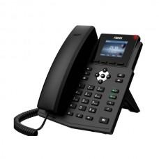 Fanvil X3SG - IP-телефон, 4 линии, 2 порта LAN Gigabit, цветной дисплей, PoE