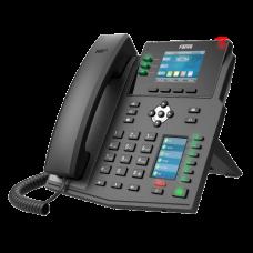 Fanvil X4SG - IP-телефон, 8 SIP-линии, PoE, с DSS